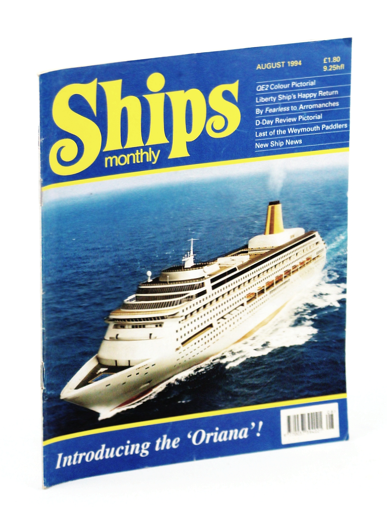 Image for Ships Monthly - The International Magazine for Shiplovers Ashore and Afloat: August 1994