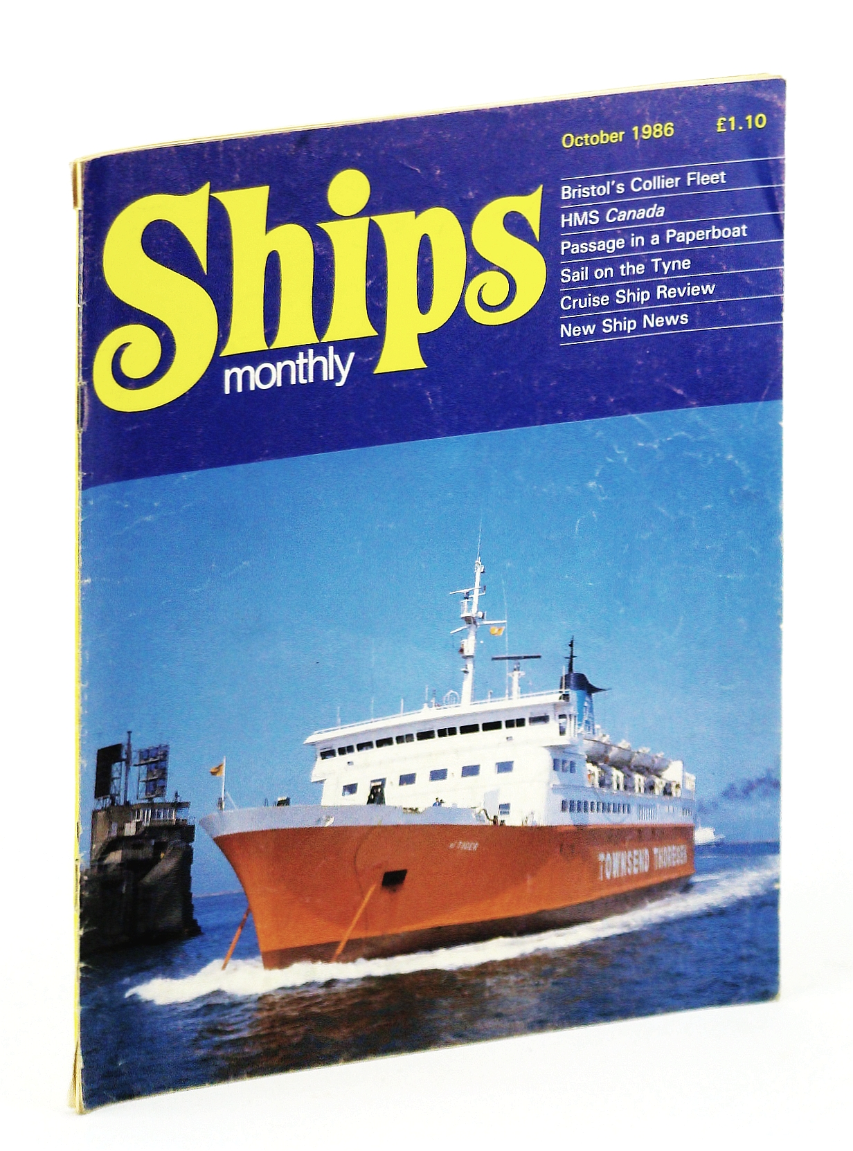 Image for Ships Monthly - The International Magazine for Shiplovers Ashore and Afloat: October 1986