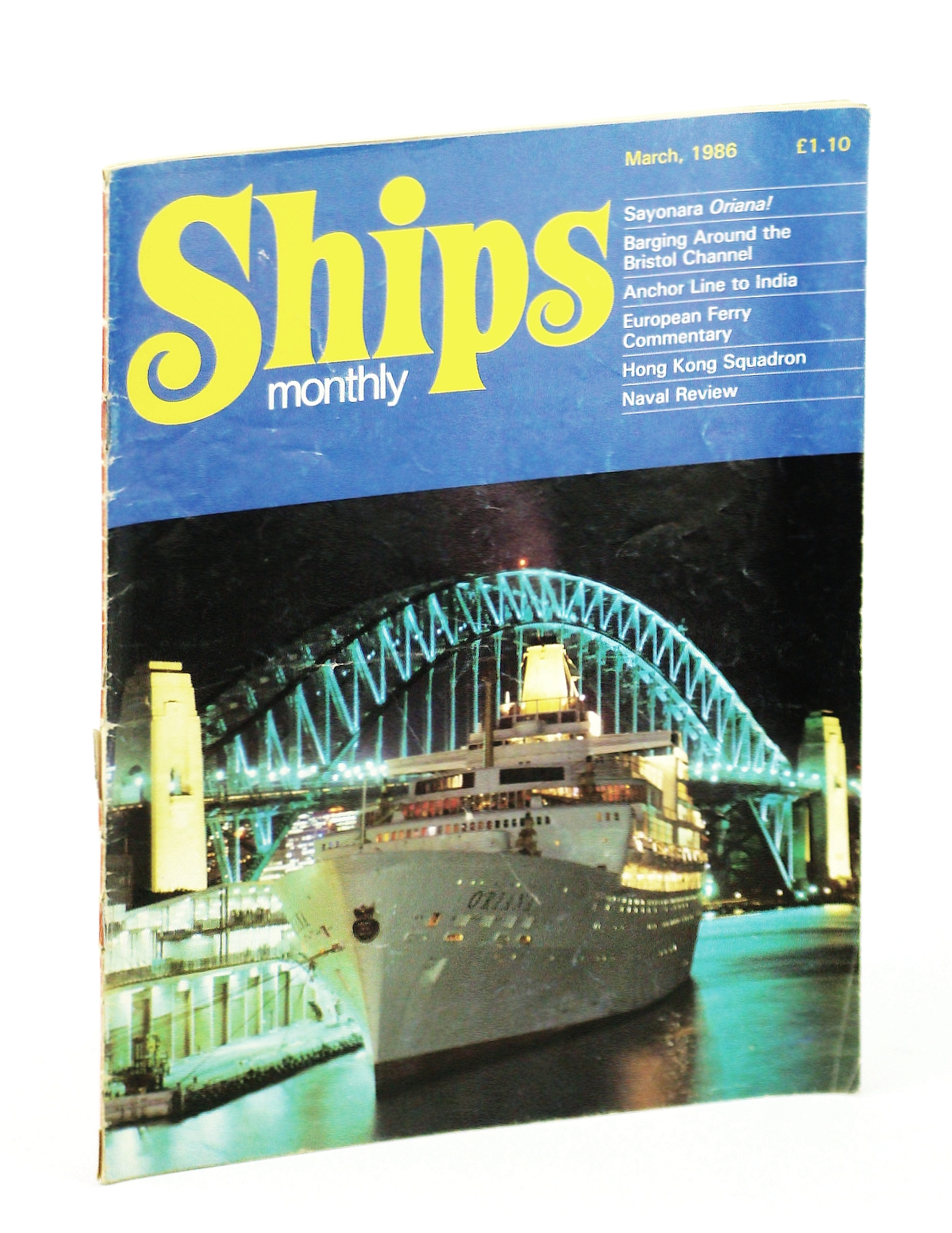 Image for Ships Monthly - The International Magazine for Shiplovers Ashore and Afloat: March 1986