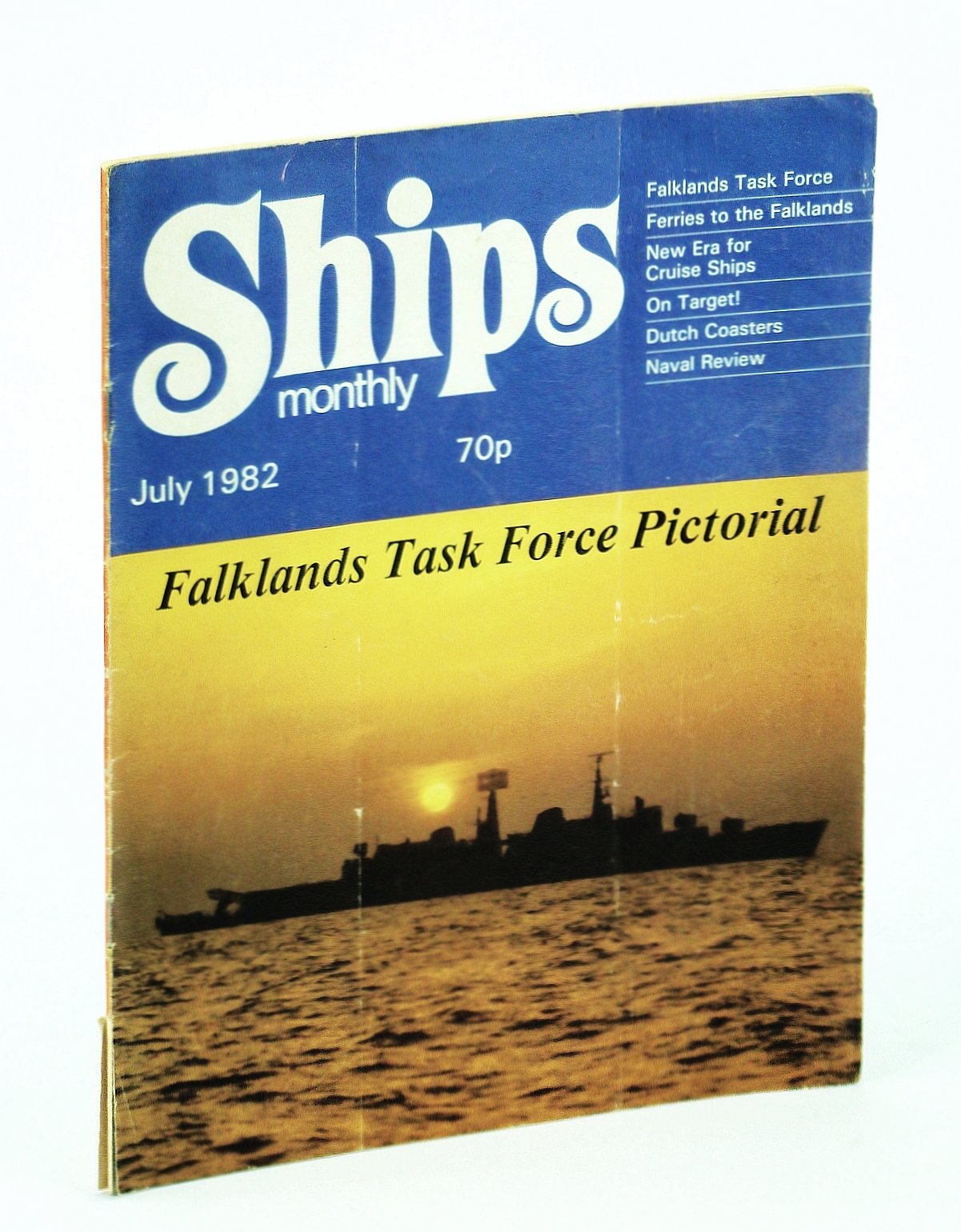 Image for Ships Monthly - The Magazine for Shiplovers Ashore and Afloat, July 1982 - Ferries To The Falklands