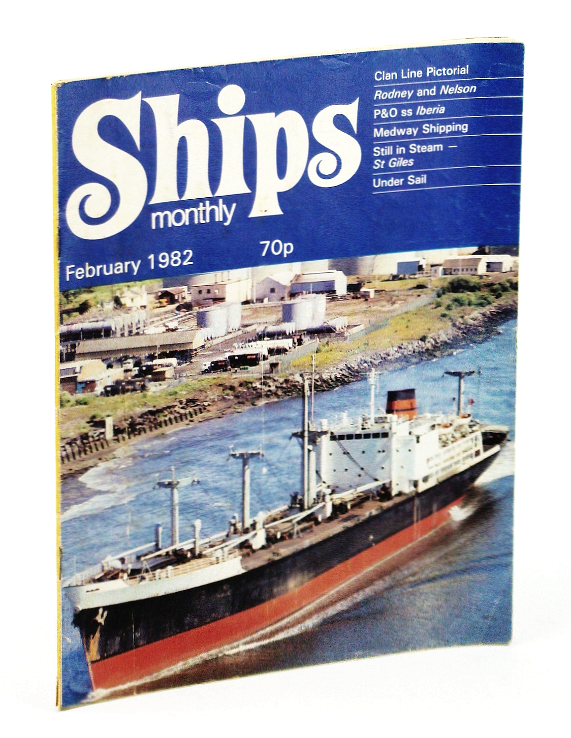 Image for Ships Monthly - The Magazine for Shiplovers Ashore and Afloat, February 1982 - P & O SS Iberia