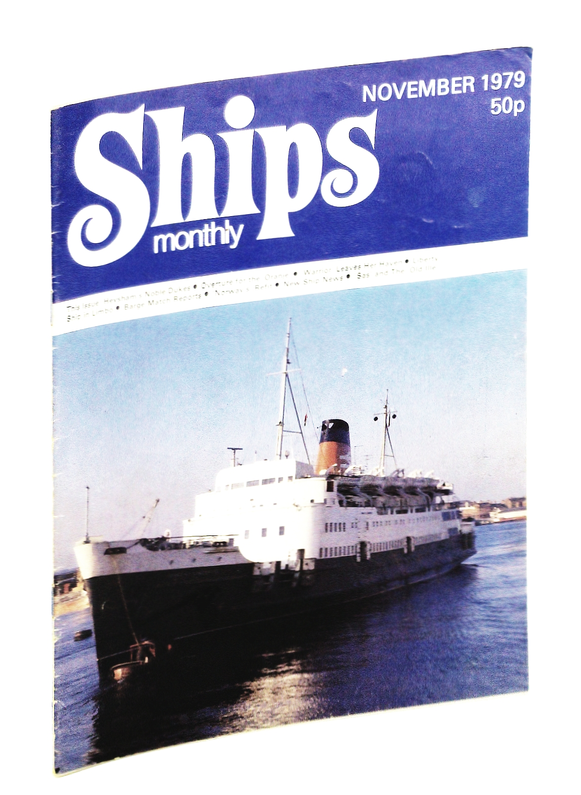 Image for Ships Monthly - The Magazine for Shiplovers Ashore and Afloat, November 1979 - Heysham's Noble 'Dukes'