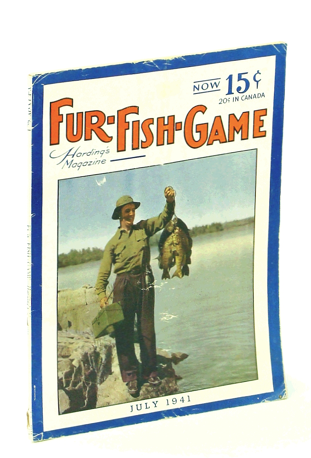 Image for Fur-Fish-Game, Harding's Magazine, July 1941