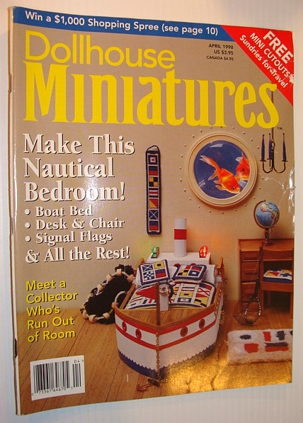 Image for Dollhouse Miniatures, April 1998 - Make This Nautical Bedroom