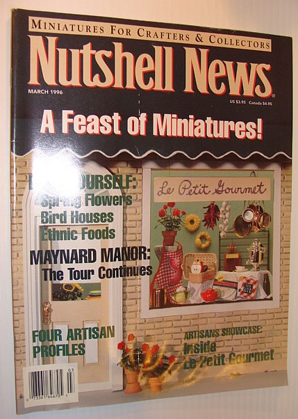 Image for Nutshell News Magazine, March 1996 - A Feast of Miniatures!
