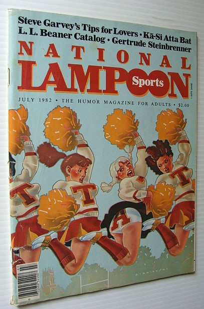 Image for National Lampoon Magazine, July 1982 - Sports Issue