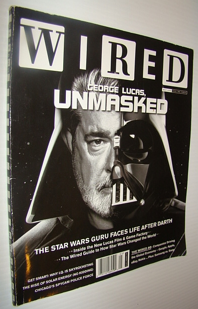 Image for Wired Magazine, May 2005 - George Lucas Cover