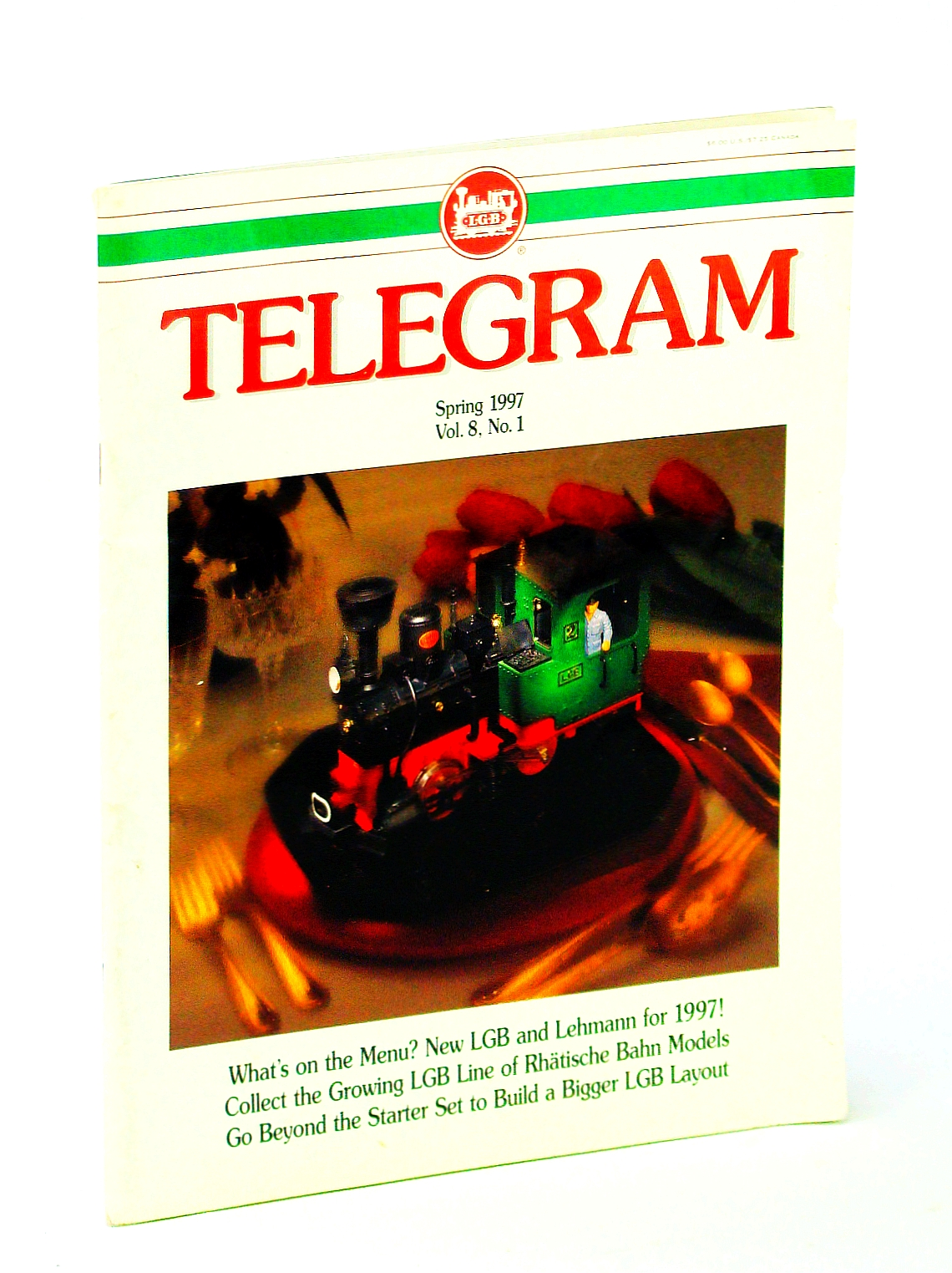 Image for [LGB] Telegram [Magazine], Spring 1997, Vol. 8, No. 1 - Meet Richard Stein