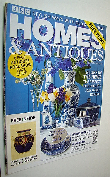 Image for Homes & Antiques Magazine, March 1999