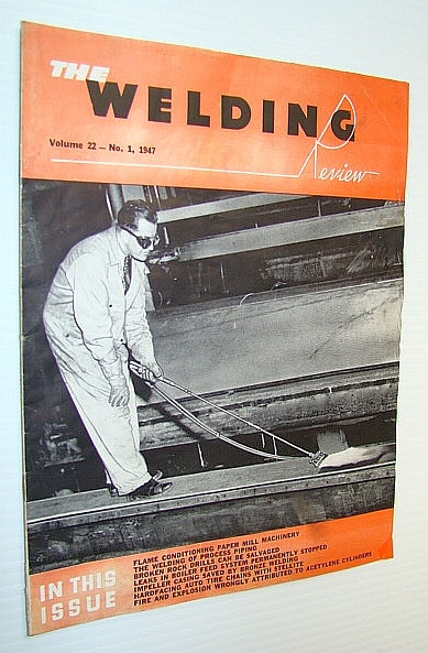 Image for The Welding Review, Volume 22 - No. 1, 1947