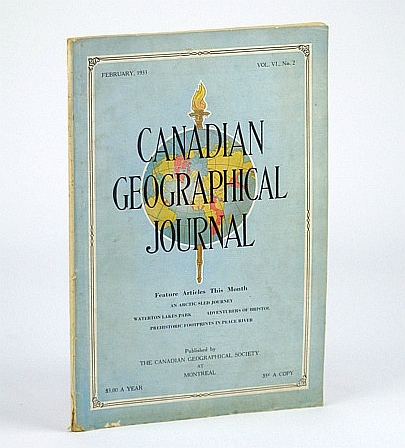 Image for Canadian Geographical Journal, February (Feb.) 1933, Vol VI, No. 2 - Waterton Lakes National Park
