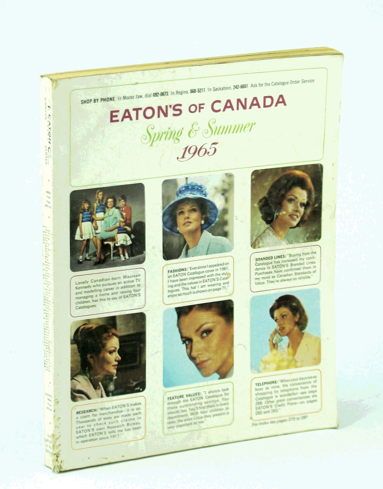 Image for Eaton's of Canada Spring and Summer Catalogue [Catalog] 1965