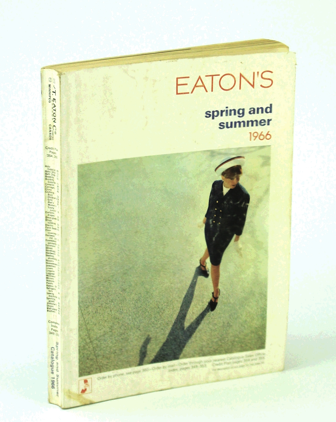 Image for Eaton's of Canada Spring and Summer Catalogue [Catalog] 1966