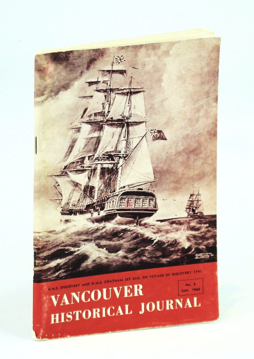 Image for Vancouver Historical Journal, No. 3, January [Jan.] 1960