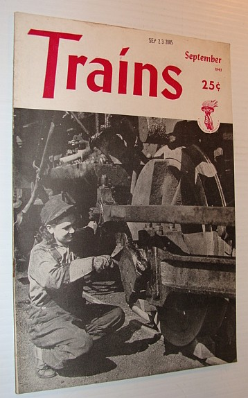 Image for Trains Magazine, September 1943, Vol. 3, No. 11