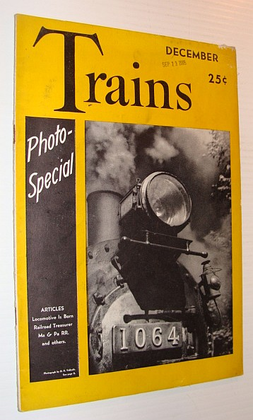 Image for Trains Magazine, December 1941, Vol. 2, No. 2