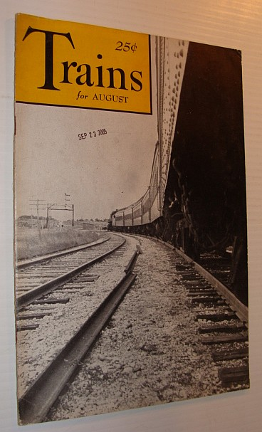 Image for Trains Magazine, August 1941, Vol. 1, No. 10