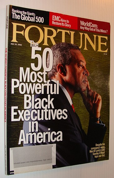 Image for Fortune Magazine, July 22, 2002 - 50 Most Powerful Black Executives