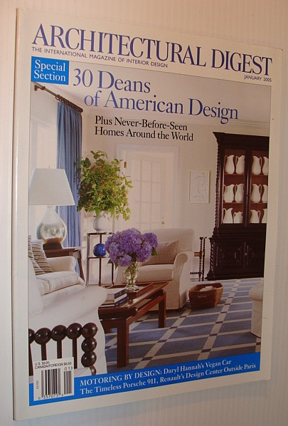 Image for Architectural Digest Magazine, January 2005 *30 Deans of American Design*
