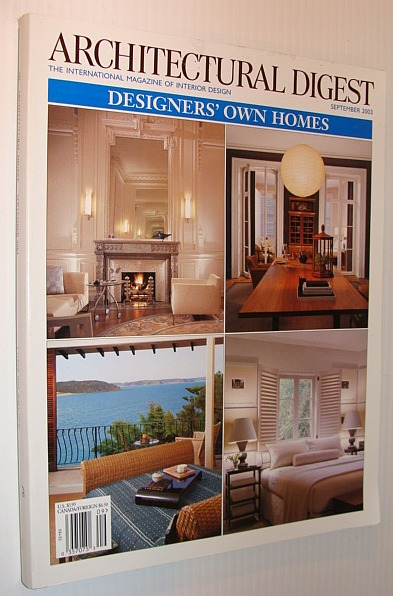 Image for Architectural Digest Magazine, September 2003 *Designers' Own Homes*