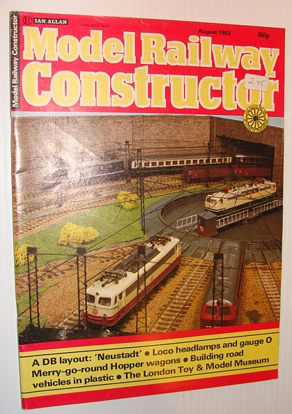Image for Model Railway Constructor Magazine, August 1982