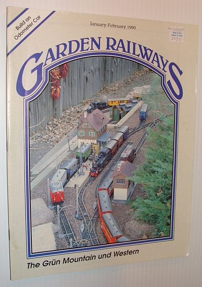 Image for Garden Railways Magazine, January-February 1990