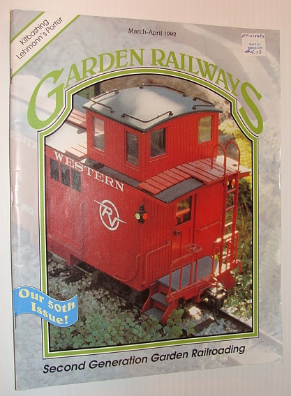 Image for Garden Railways Magazine, March-April 1992