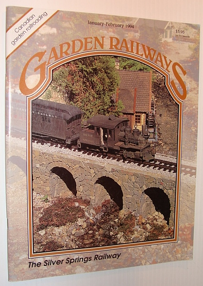 Image for Garden Railways Magazine, January-February 1994