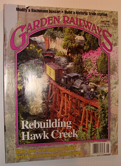 Image for Garden Railways Magazine, June 1996