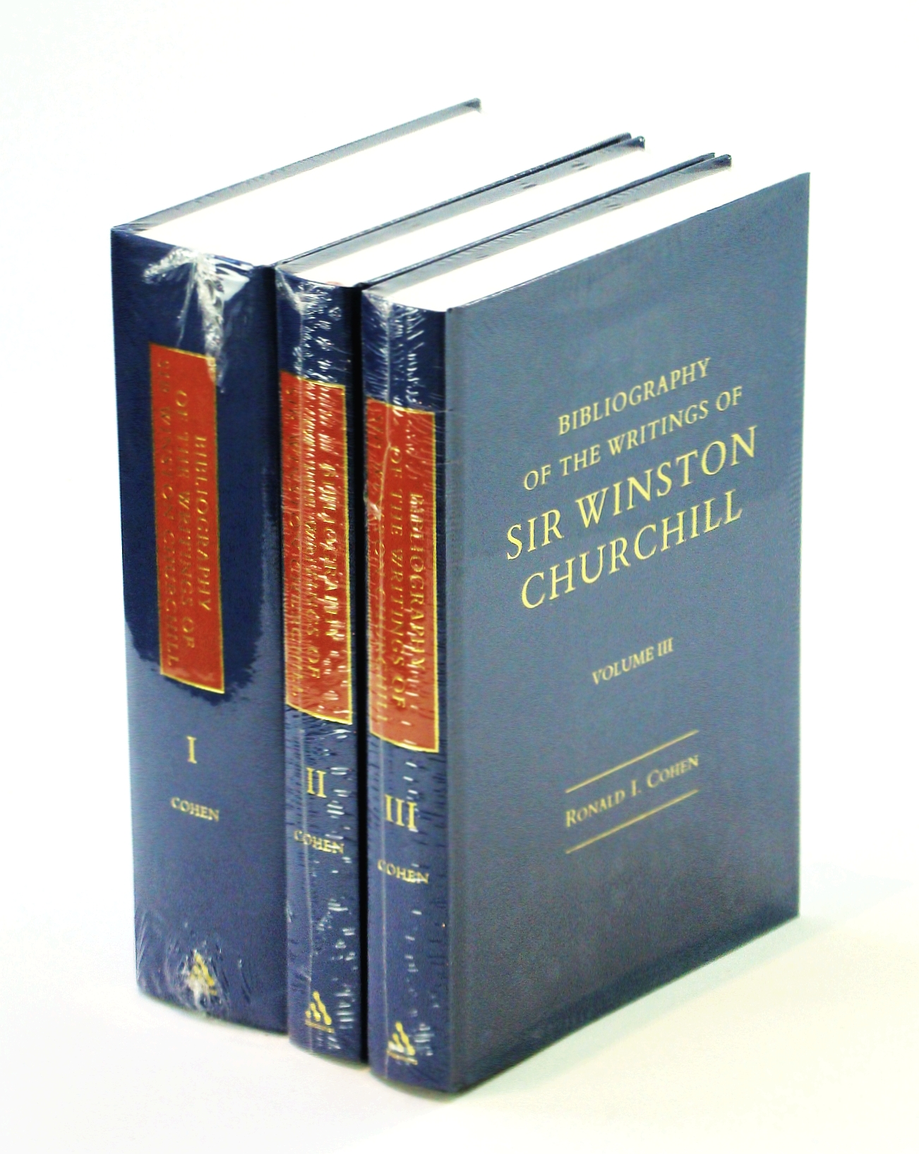 Image for Bibliography of the Writings of Sir Winston Churchill - Complete in Three Volumes