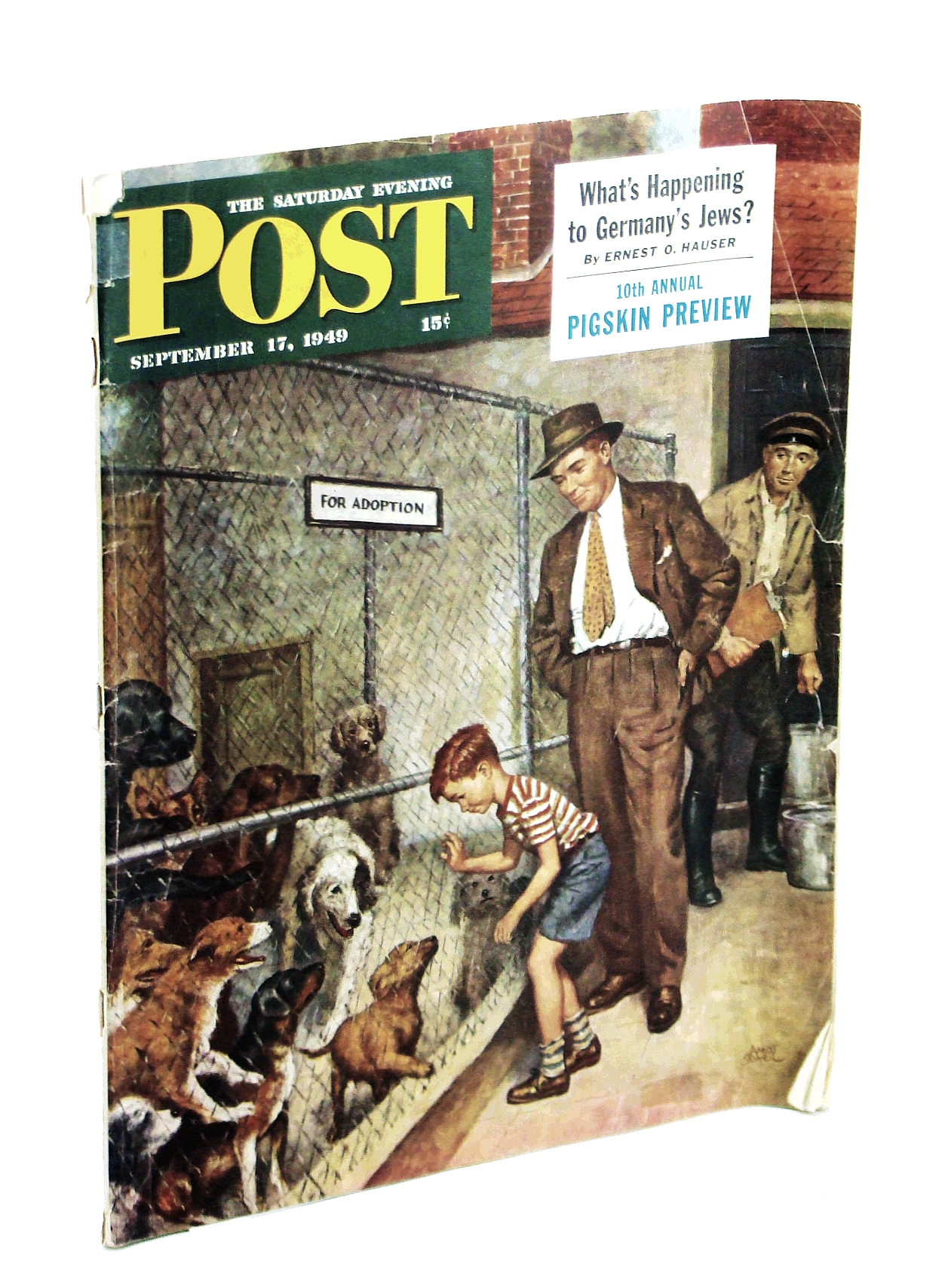 Image for The Saturday Evening Post, September 17, 1949 - What's Happening to Germany's Jews? / Digging the Japs Out of the Philippines
