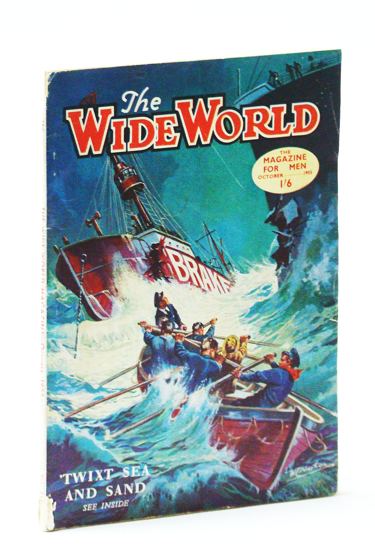 Image for The Wide World Magazine - October 1955
