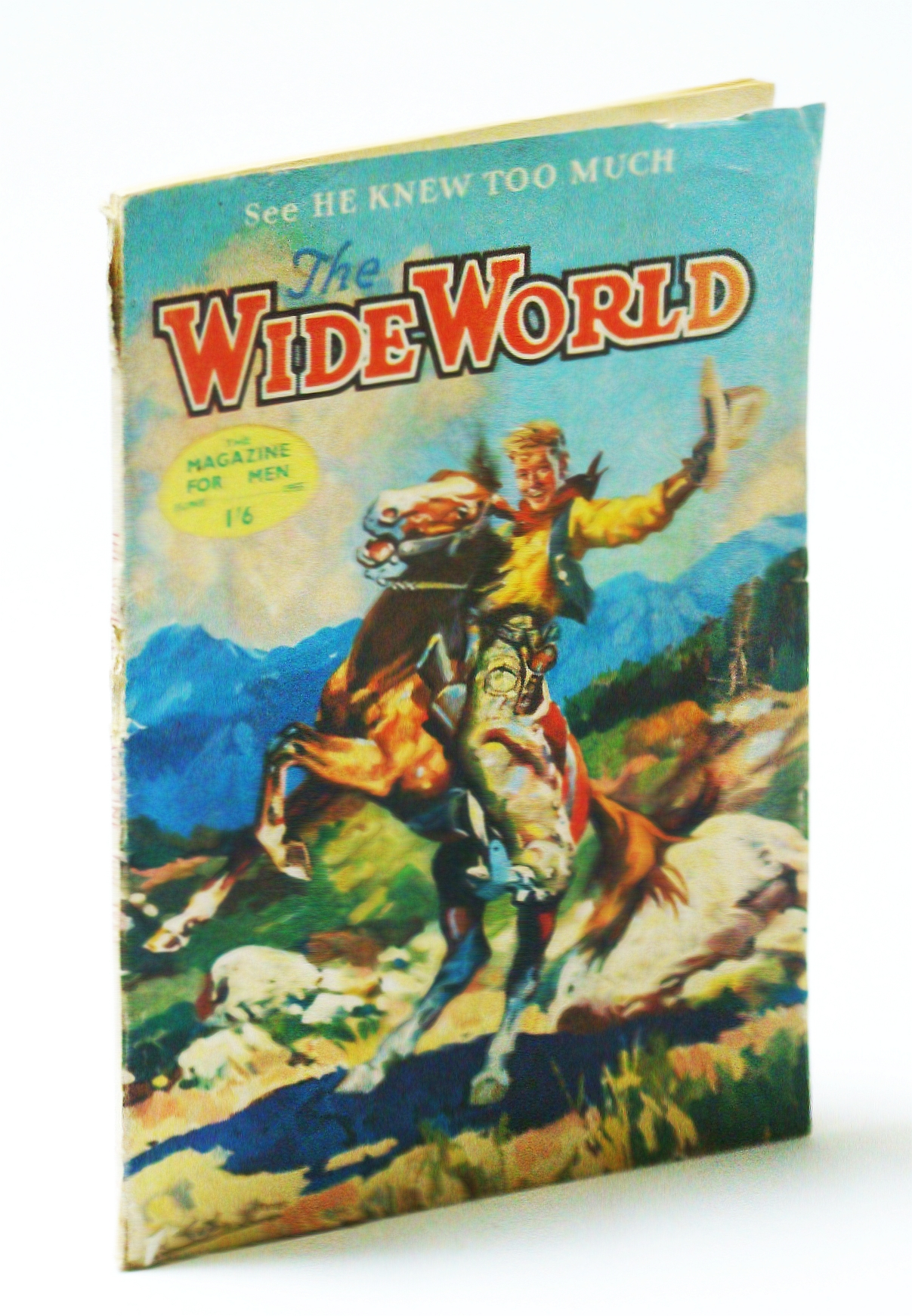 Image for The Wide World Magazine - June 1955 - Vol.155, No.684