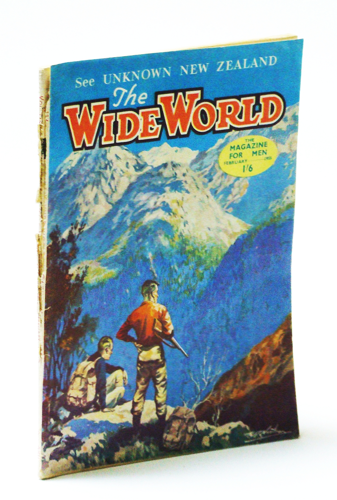 Image for The Wide World Magazine - February 1955 Vol.114, No.680