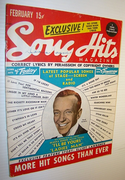 Image for Song Hits Magazine, February 1947 Vol. 10 No. 9