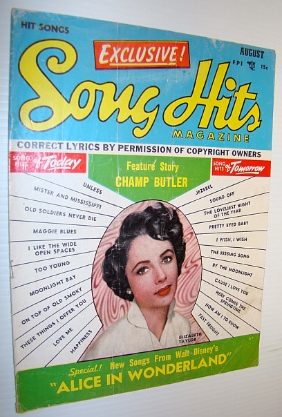 Image for Song Hits Magazine, August 1951 Vol. 15 No. 1