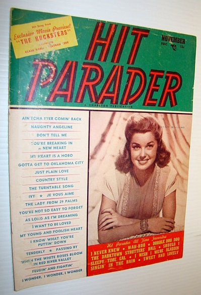 Image for Hit Parader Magazine, November 1947 Vol. V No. 12