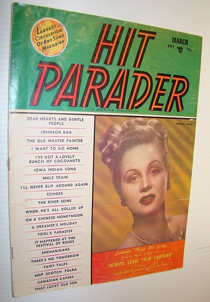 Image for Hit Parader Magazine, March 1950 Vol. VIII No. 4