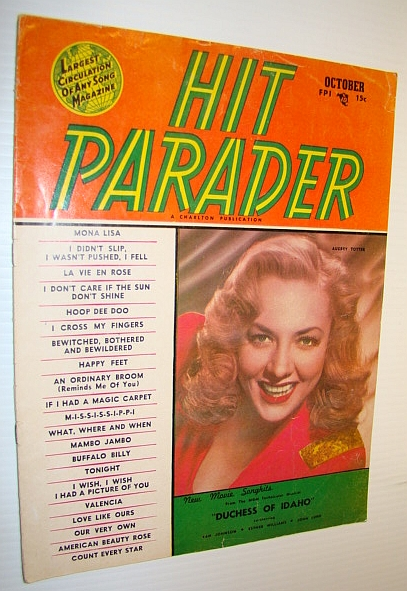 Image for Hit Parader Magazine, October 1950 Vol. VIII No. 11