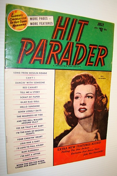 Image for Hit Parader Magazine, July 1953 Vol. XI No. 8