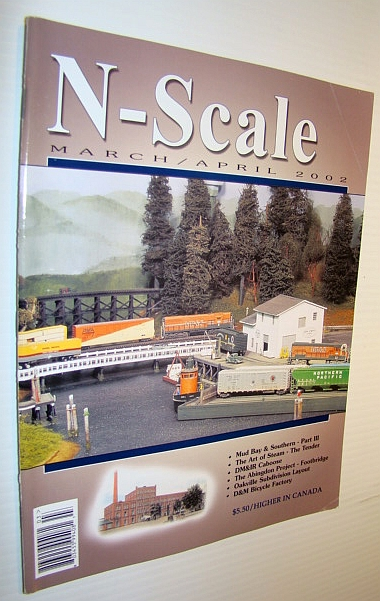 Image for N-Scale Magazine March/April 2002, Vol. 14 No. 2
