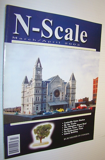 Image for N-Scale Magazine March/April 2003, Vol. 15 No. 2