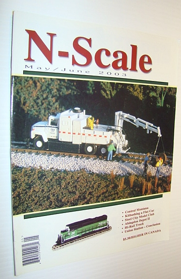 Image for N-Scale Magazine May/June 2003, Vol. 15 No. 3