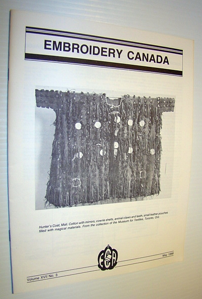 Image for Embroidery Canada Magazine, May 1988