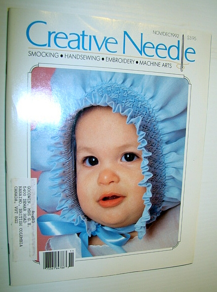 Image for Creative Needle Magazine - Smocking, Handsewing, Embroidery, Machine Arts - November/December 1992