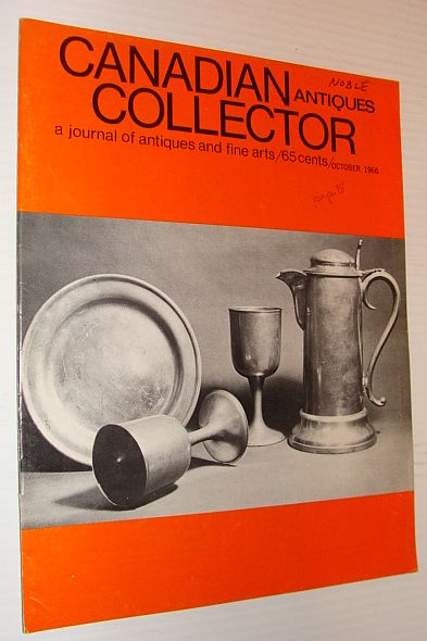 Image for Canadian Antiques Collector Magazine, October 1966, Volume 1, Number 5