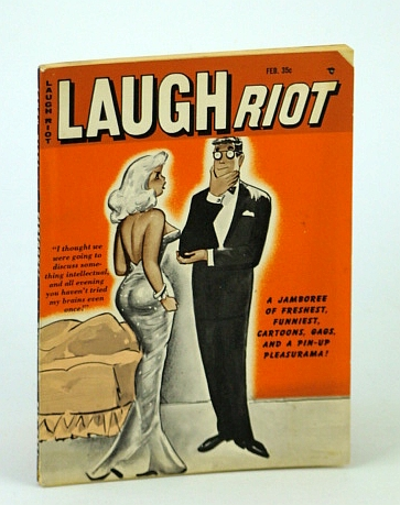 Image for Laugh Riot Magazine, Feb. (February) 1962, Vol. 1, No. 12