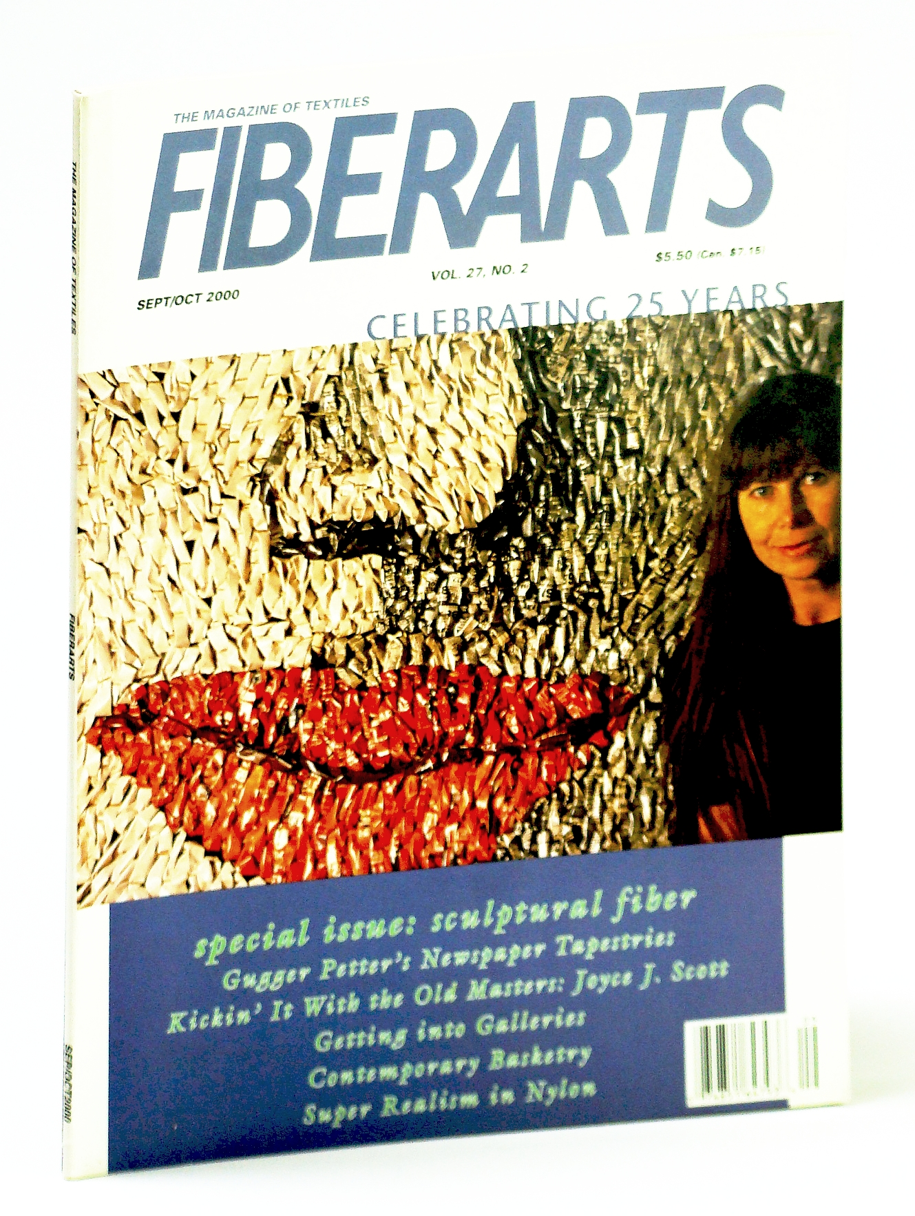 Image for Fiberarts, The Magazine of Textiles,  September / October (Sept./ Oct.) 2000: Sculptured Fiber