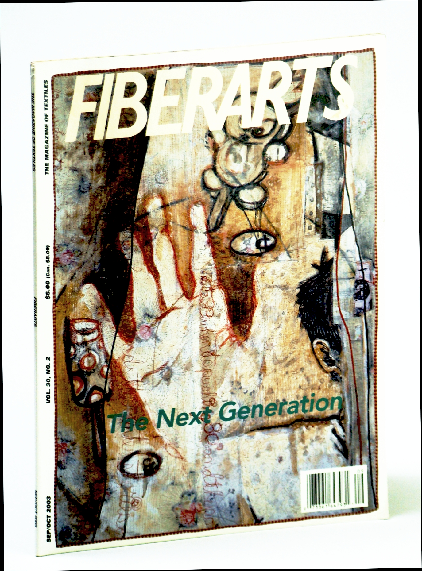 Image for Fiberarts, The Magazine of Textiles,  September / October (Sept. / Oct.) 2003: The Next Generation