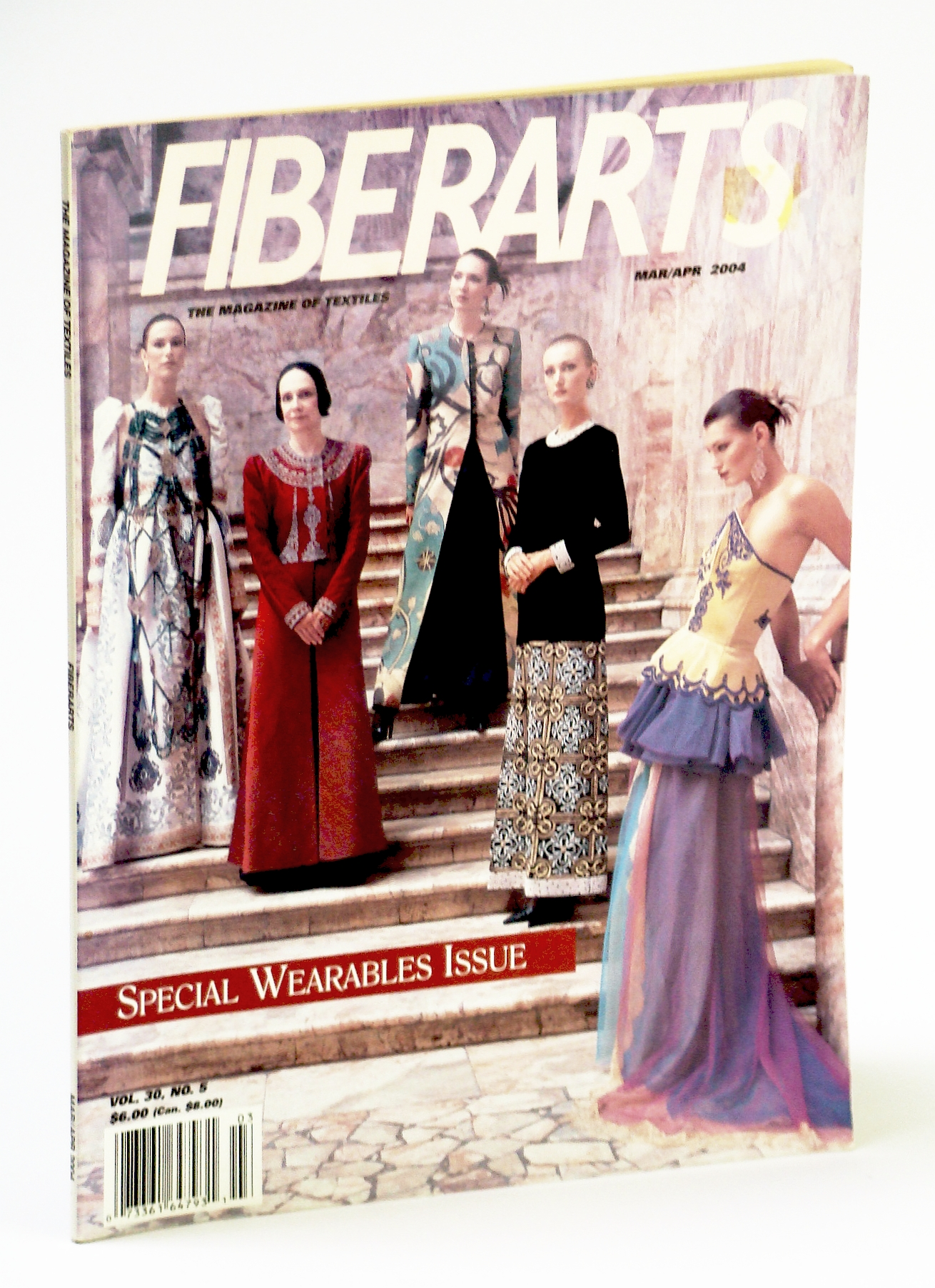 Image for Fiberarts, The Magazine of Textiles, March / April (Mar. / Apr.) 2004: Special Wearables Issue